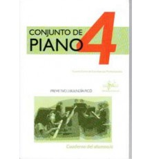 Conjunto de Piano Vol. 4 Alumno   CD