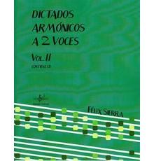 Dictados Armónicos a 2 Voces Vol. II  CD