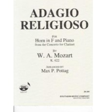Adagio Religioso for Horn in F and Piano