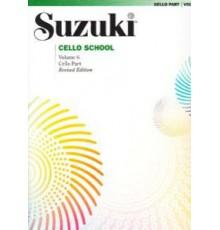 Suzuki. Cello. Vol. 6. Revised