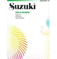 Suzuki. Cello. Vol. 8. Revised