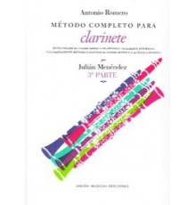 Método Completo Clarinete. 3º