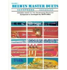 Belwin Master Duets Vol.1 Saxophone Adva