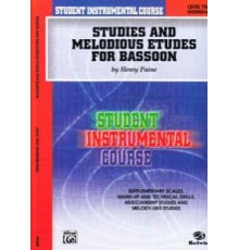 Studies and Melodious Basson Level Two