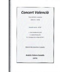 Concert Valencìa (2012-AV78)/ Full Scor