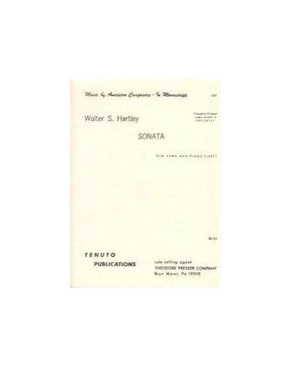 Sonata for Tuba and Piano 1967