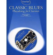 Classic Blues Playalong Clarinet   CD