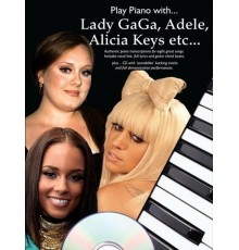 Play Piano with Lady Gaga, Adele, Alicia
