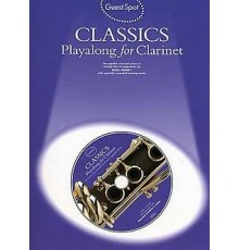 Classics Playalong Clarinet   CD