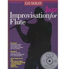 Jazz Improvisation for Flute   CD