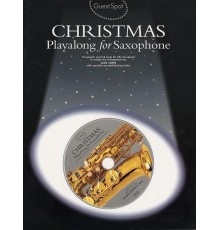 Christmas Playalong Saxophone   CD
