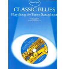 Classic Blues Playalong Tenor Sax   CD