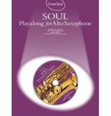 Soul Playalong Alto Sax/ Ebook   Audio