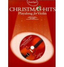 Christmas Hits Playalong Violin   CD