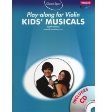 Play-Along Kids? Musicals   CD/ Violín