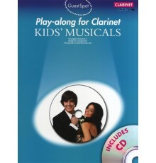 Play-Along Kids? Musicals   CD/ Clarinet