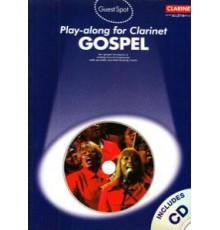 Play-Along Clarinet Gospel   CD
