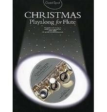 Christmas Playalong Flute   CD