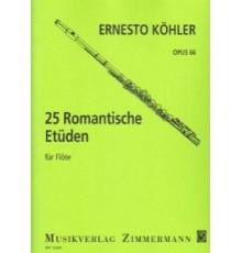 25 Estudios Romanticos Op. 66