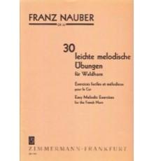 30 Leichte Melodische Ubungen Op. 33