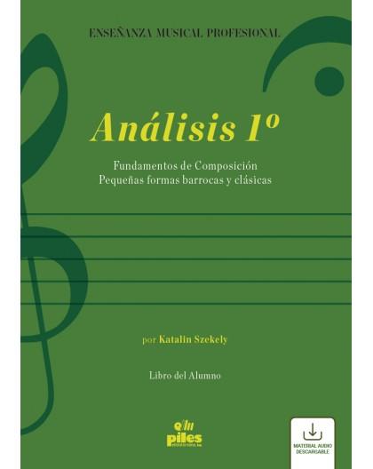 Análisis 1º. Libro del Alumno. Audio