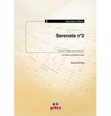 Serenata Nº 2/ Red. Pno.