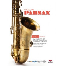 Parsax 24 Caprices Vol. 2 Op. 9-16