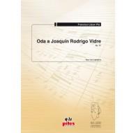 Oda a Joaquín Rodrigo Vidre Op. 72