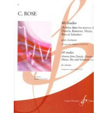 40 Etudes Vol. 1