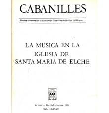 La Música en Elx. Revista Nº 18-19-20