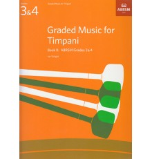 Graded Music for Timpani Book II Grades