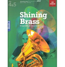 Shining Brass Book 2   2 CD´S Grades 4-5