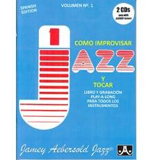Cómo Improvisar y Tocar Jazz Vol.1   CD