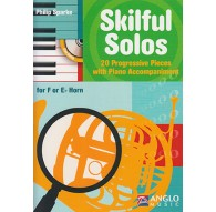 Skilful Solos Horn   CD. 20 Progressive