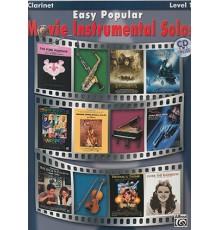 Easy Popular Movie Instr.Solos Clarinet