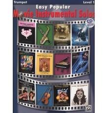 Easy Popular Movie Instr.Solos Trumpet