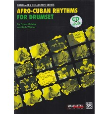 Afro-Cuban Rhythms for Drumset Book   CD