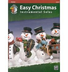Easy Christmas Instru. Solos Clarinet