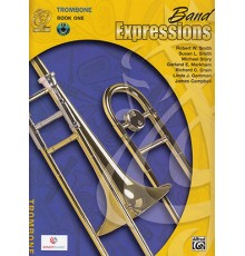 Band Expressions Trombone Book One   CD