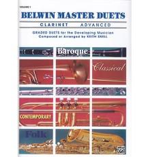 Belwin Master Duets Vol. 1 Clarinet Adva