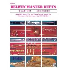 Belwin Master Duets (Clarinet), Advanced