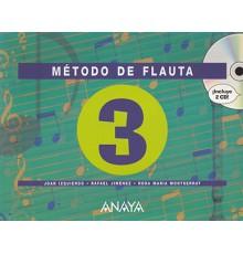Método de Flauta Vol.3   2 CD