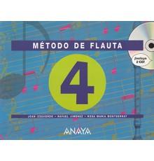 Método de Flauta Vol.4  2 CD