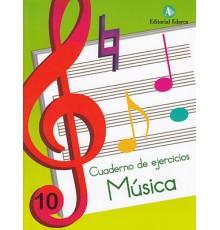 Cuaderno de Música Vol. 10 Ejercicios