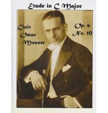 Etude in C Major Op. 6 Nº 10