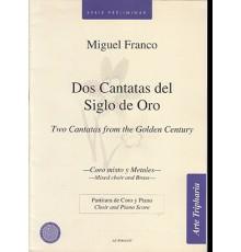 Dos Cantatas del Siglo de Oro/ Red.Pno