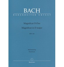 Magnificat D-Dur BWV 243/ Vocal Score