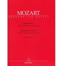 Quartett in F Major KV 370/ Parts