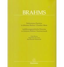 Performance Practices in Johannes Brahms