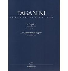 24 Capricci Op. 1. 24 Contradanze Ingle